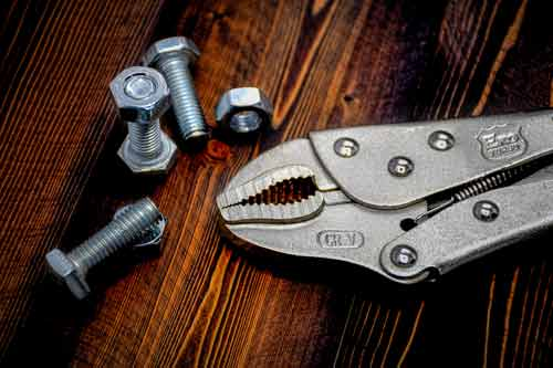انبر قفلی اکو مدل ELP-2501 سایز 10 اینچ