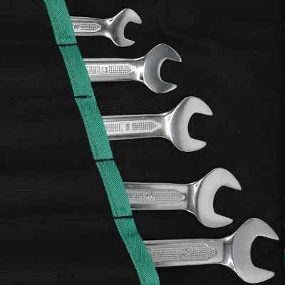 مجموعه 8 عددی آچار یکسر رینگ یکسر تخت سیلور مدل SLD-101