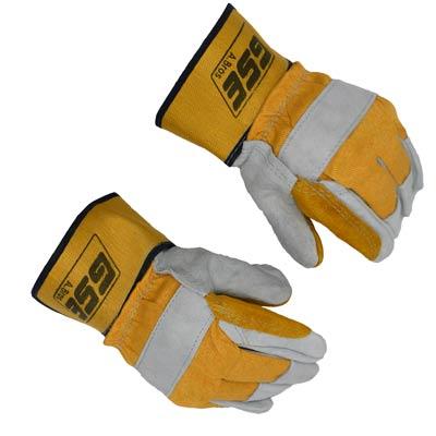 دستکش ایمنی کف دوبل GSE نارنجی مدل A.Bros