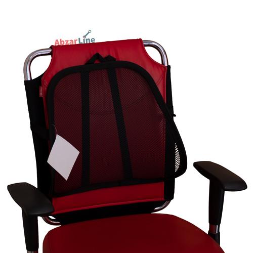 محافظ گودی کمر مخصوص صندلی خودرو سون مدل رنگین کمان