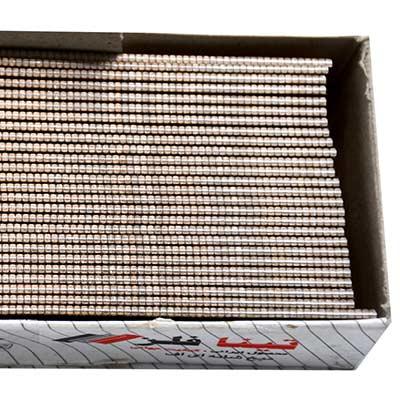 میخ اسکا تینا فلز مدل F25 بسته 5000 عددی